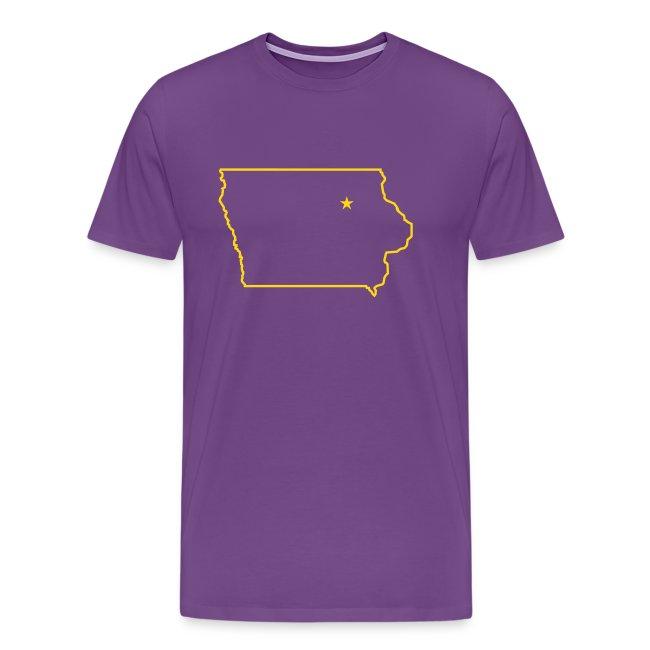 STATE OF IOWA - CEDAR FALLS CAPITAL T Shirt