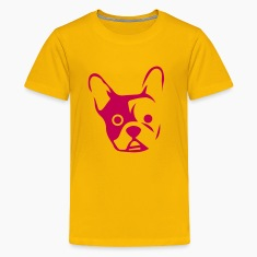 Head of a bulldog  Kids' Shirts