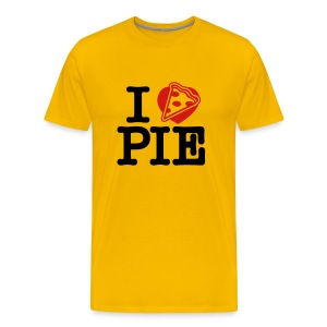I Love Pizza Pie - Men's Premium T-Shirt