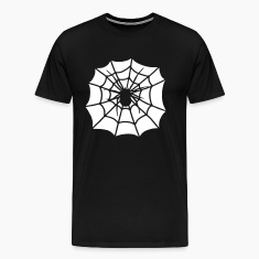 Spider in cobweb  T-Shirts