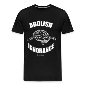 Abolish Black - Men's Premium T-Shirt