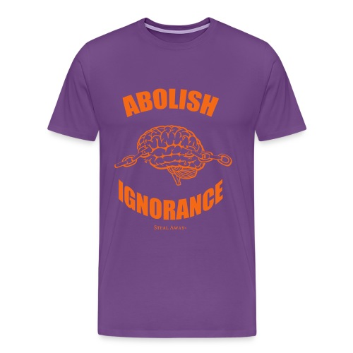 Abolish Orange - Men's Premium T-Shirt