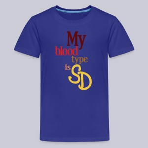 My Blood Type is SD - Kids' Premium T-Shirt