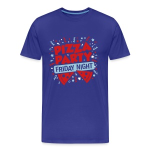 Pizza Party Friday Night - Men's Premium T-Shirt
