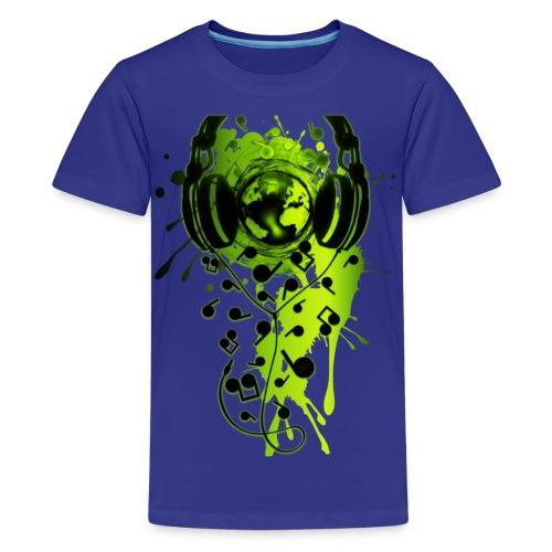 Music Splatter - Kids' Premium T-Shirt