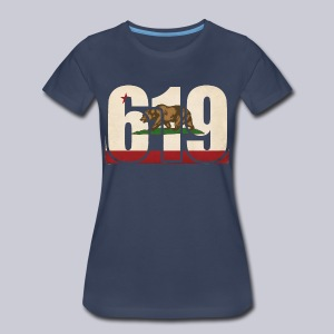619 Flag - Women's Premium T-Shirt