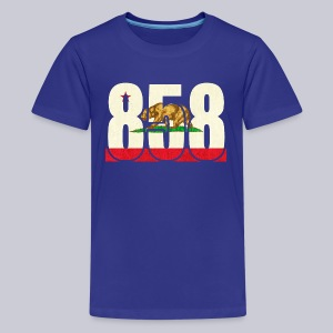 858 Flag - Kids' Premium T-Shirt