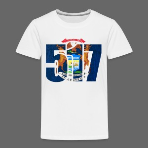 517 MI Flag - Toddler Premium T-Shirt