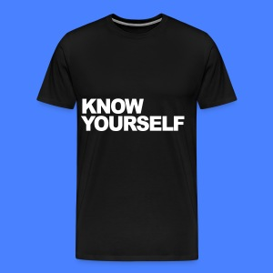 Know Yourself T-Shirts - Men's Premium T-Shirt