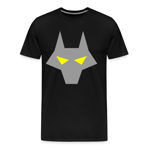 WOLF HEAD SHIRT - Men's Premium T-Shirt