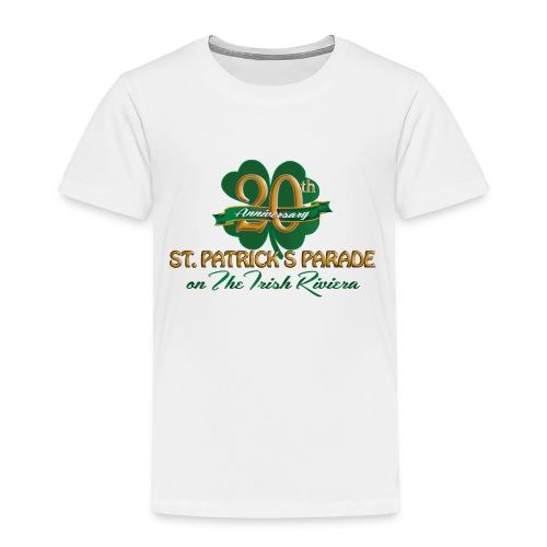Toddler Anniversary Logo T-Shirt - Toddler Premium T-Shirt