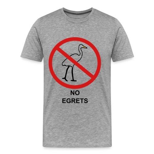No Egrets - Men's Premium T-Shirt
