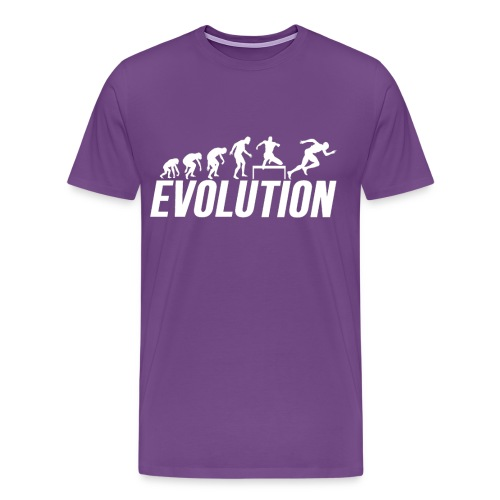 Hurdles Evolution - Track and Field Hurldes - Men's Premium T-Shirt