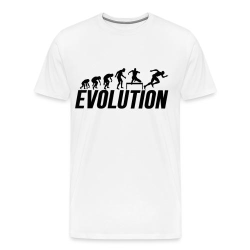 Hurdles Evolution - Track and Field Hurldes - Men's Premium T-Shirt
