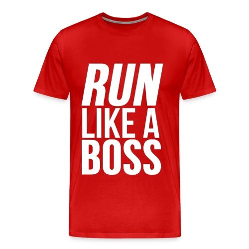 Run Like A Boss - Men's Premium T-Shirt