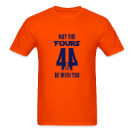 T-Shirts ~ Men's T-Shirt ~ May the Fours Be With You