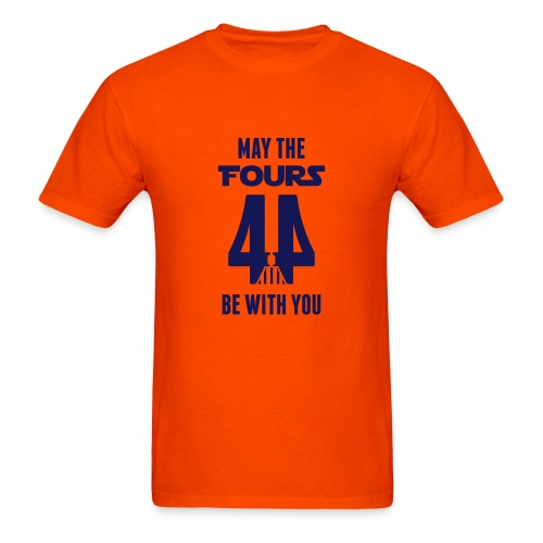May the Fours Be With You - Men's T-Shirt