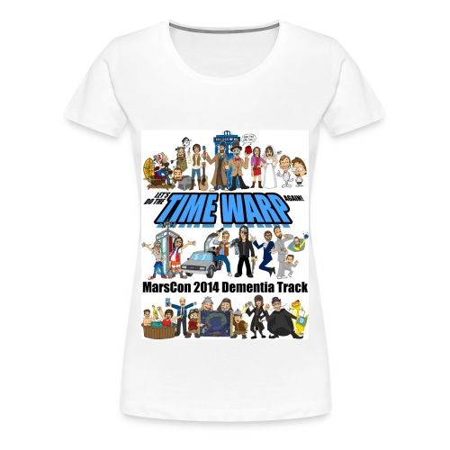 Marscon 2014 womens plus size white - Women's Premium T-Shirt