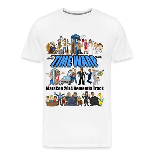 Marscon 2014 mens 3x and 4x white - Men's Premium T-Shirt