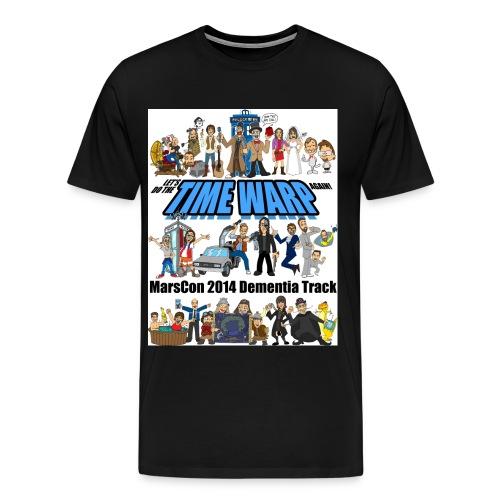 Marscon 2014 mens 3x and 4x black - Men's Premium T-Shirt