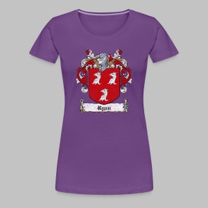 Ryan Family Crest - Women's Premium T-Shirt
