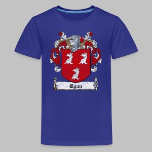 Ryan Family Crest - Kids' Premium T-Shirt