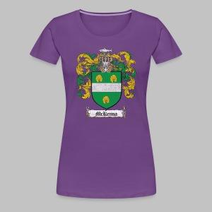 Mckenna Family Shield - Women's Premium T-Shirt