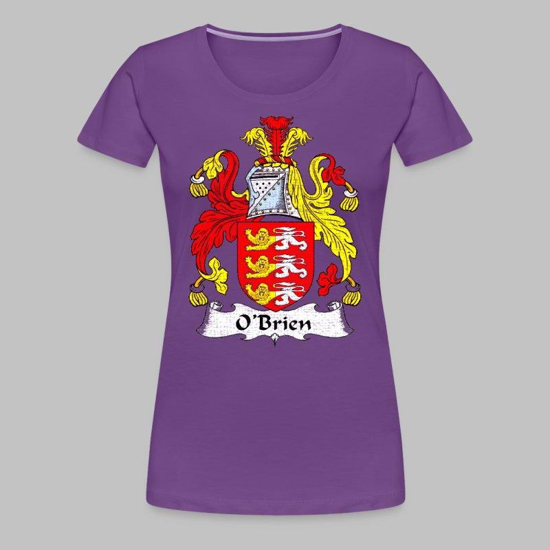 Obrien Family Shield - Women's Premium T-Shirt