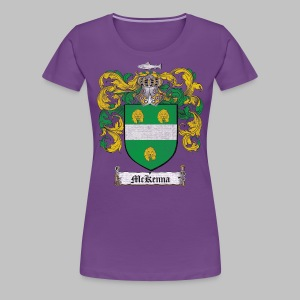 Mckenna Family Shield - Women's Premium T-Shirt