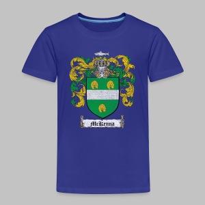 Mckenna Family Shield - Toddler Premium T-Shirt