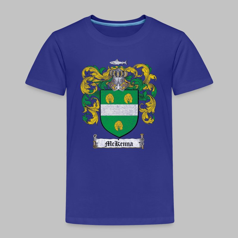 Mckenna Family Shield - Toddler Premium T-Shirt