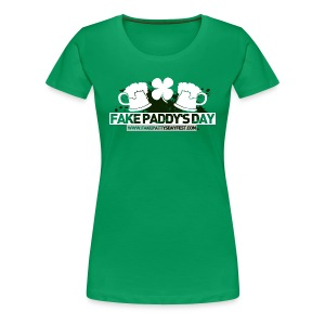FPD Logo Ladies Fitted Tee - Women's Premium T-Shirt