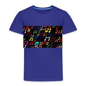 Music Notes - Toddler - Toddler Premium T-Shirt