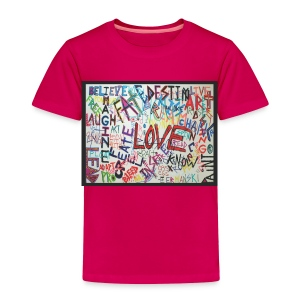 LOVE - Toddler - Toddler Premium T-Shirt