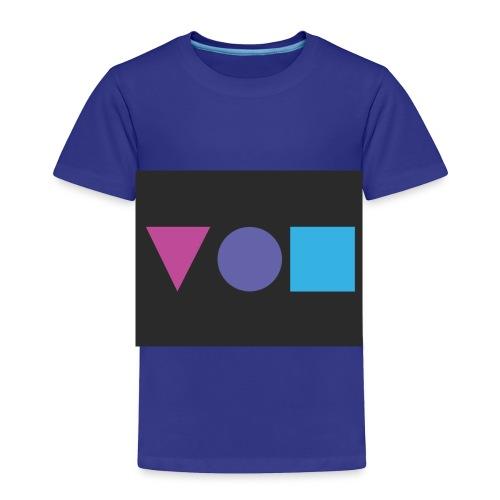 Shapes - Toddler - Toddler Premium T-Shirt