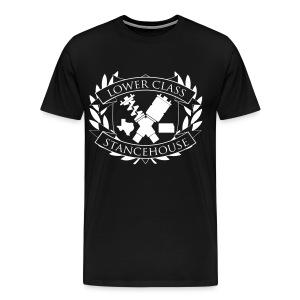SHxLC 3x/4x collab shirt white logo - Men's Premium T-Shirt