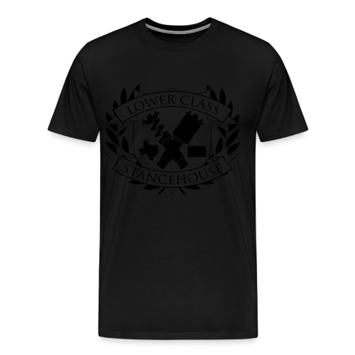 SHxLC 3x/4x collab shirt black logo - Men's Premium T-Shirt