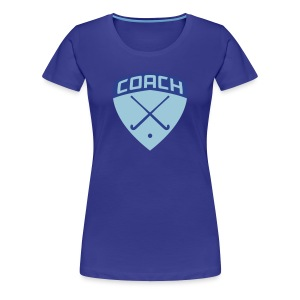 Field Hockey Coach Women's T-Shirt - Women's Premium T-Shirt