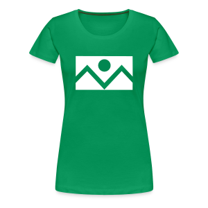 Denver Flag - St. Patrick's Day - Ladies - Women's Premium T-Shirt