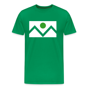Denver Flag - St. Patrick's Day - Mens - Men's Premium T-Shirt