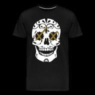 T-Shirts ~ Men's Premium T-Shirt ~ take it to the head xx [metallic gold]