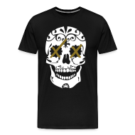 T-Shirts ~ Men's Premium T-Shirt ~ take it to the head xx [metallic gold]