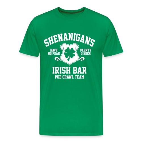 shenanigans irish pub crawl team - Men's Premium T-Shirt