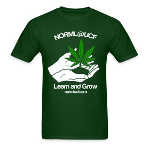 Learn and Grow - Men's T-Shirt