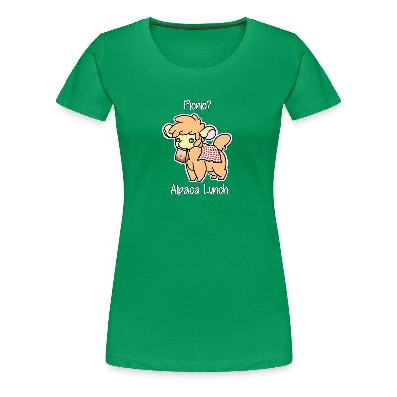 Alpaca Lunch Ladies Fitted Tee - Women's Premium T-Shirt