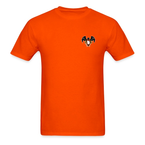Bleed Orange Front and Back Orange - Men's T-Shirt