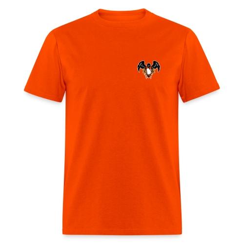 Bleed Orange Front and Back Orange - Men's T-Shirt