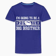 im_going_to_be_a_big_brother_2015 Kids' Shirts