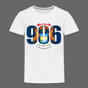 906 Michigan Flag - Toddler Premium T-Shirt
