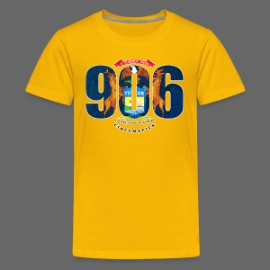906 Michigan Flag - Kids' Premium T-Shirt